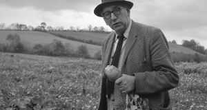 Patrick Kavanagh went into Hodges Figgis and started to throw books around the shop in a rage that  The Green Fool  was not in the window. Photograph: The Wiltshire Collection, National Library of Ireland