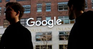 Google is spending more than $1 billion to expand operations in New York city. Photograph: Mark Lennihan/AP