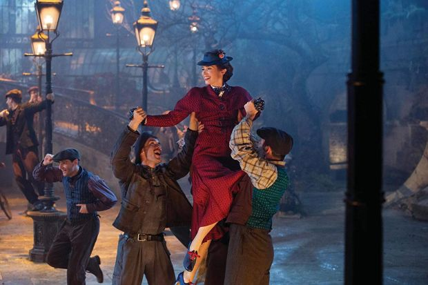 Emily Blunt in Mary Poppins Returns. Photograph: Disney