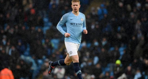 the best attitude d1f78 40442 Kevin De Bruyne says injuries were 'accidents', not muscular
