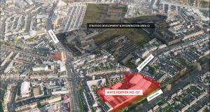 The White Heather site is near the Liberties