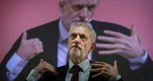 British Labour Party leader Jeremy Corbyn's move does not shift the party closer to a position of advocating a second referendum, as many of its anti-Brexit supporters would like. File photograph: Mario Cruz/EPA
