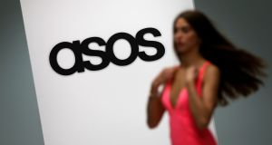 Asos said November sales were 'significantly behind expectations'. Photograph: Suzanne Plunkett/Reuters