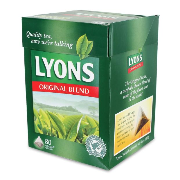 Yes, that's right. Even Lyons Tea, once an Irish family-run company, is now made in the UK
