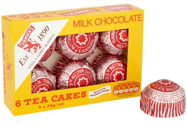 Tunnock's Tea Cakes: Every year we import €230bn of biscuits from the UK, including McVitie's and Tunnock's