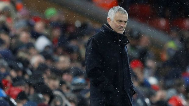 Manchester United sacked Jose Mourinho on Tuesday morning. Photograph: Phil Noble/Reuters