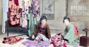 Japanese dressmakers. Photograph: The Print Collector/Print Collector/Getty Images
