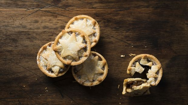 Mince Pies: Once filled with mutton, they're now usually vegetarian, except the occasional inclusion of suet