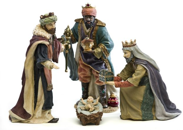 The three wise men are said to have brought the baby Jesus gifts on the 12th day of Christmas. Photograph: iStock