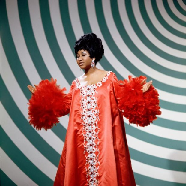 Aretha Franklin in 1969. Photograph: Fred A Sabine/NBC via Getty