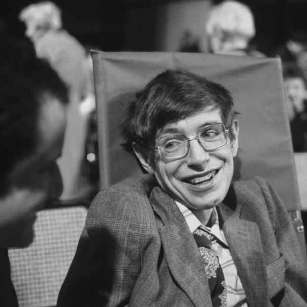 Stephen Hawking in 1979. Photograph: Santi Visalli/Getty