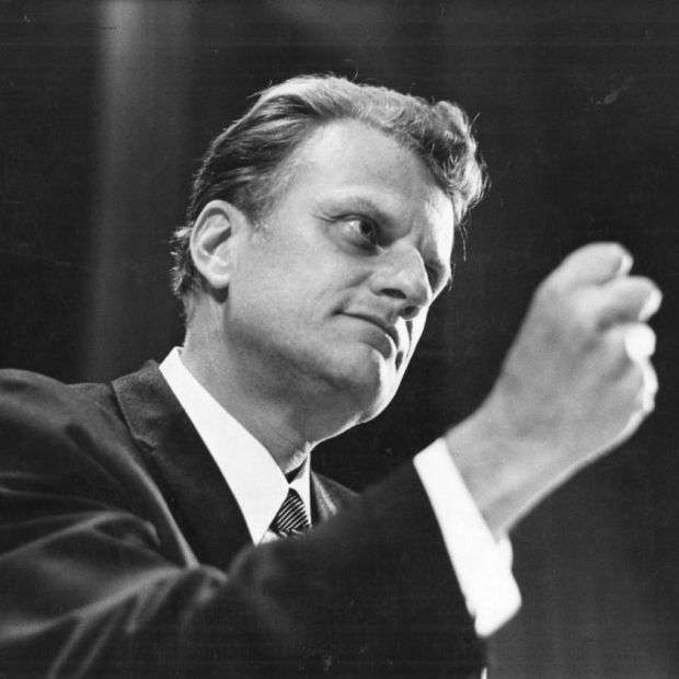 Billy Graham in 1969. Photograph: William Sauro/New York Times