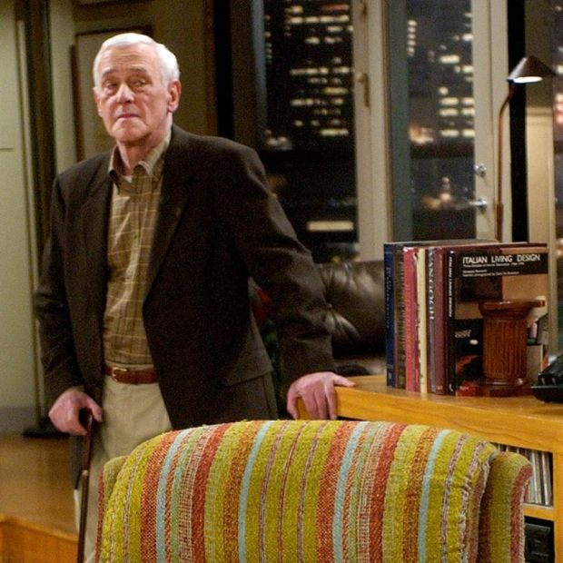 John Mahoney in Frasier in 2004. Photograph: Reed Saxon/AP