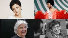 RIP: Dolores O'Riordan, Aretha Franklin, Myrtle Allen and Stephen Hawking. Photographs: Tim Roney/Getty, Fred A Sabine/NBC via Getty, Eric Luke and Santi Visalli/Getty