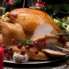 Christmas turkey, carved at the table. Photograph: iStock
