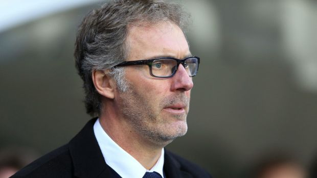 Former United defender Laurent Blanc has been out of work since leaving Paris St-Germain in 2016. Photograph: Nigel French/PA Wire