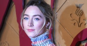 Saoirse Ronan arrives at the European premiere of her latest 2018 film in Leicester Square, London, on December 10th. Photograph: Facundo Arrizabalaga/EPA