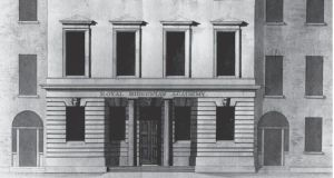 Academy House, front elevation. Francis Johnston PRHA (1760–1829). Courtesy of the Irish Architectural Archive