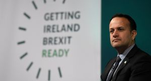 Taoiseach Leo Varadkar ambiguously ruled out any possibility of inviting Sinn Féin to form a government with Fine Gael. Photograph: Clodagh Kilcoyne/Reuters