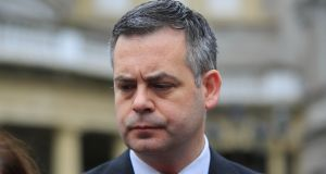 Pearse Doherty told Dáil : 'Those enforcing evictions who are acting in a violent and abusive way need to be held accountable.' Photograph: Gareth Chaney Collins
