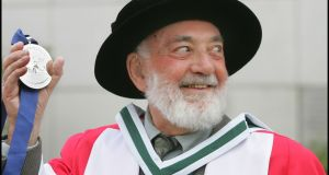 Poet Thomas Kinsella  was honoured with the UCD Ulysses Medal in 2008 and was recently given an honorary doctorate by Trinity College Dublin   for his contribution to Irish literature