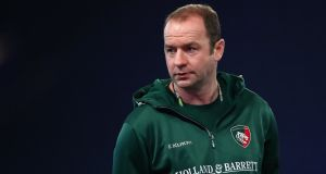 Geordan Murphy has been appointed as permanent head coach at Leicester. photograph: James Crombie/Inpho