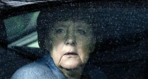 Final farewell: Angela Merkel is preparing to leave the political stage. Photograph: Virginia Mayo/AFP/Getty