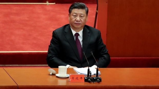 "One cable quoted Chinese president Xi Jinping comparing Donald Trump's bullying of Beijing to a ""no-rules freestyle boxing match"". Photograph: Andrea Verdelli/Getty Images"