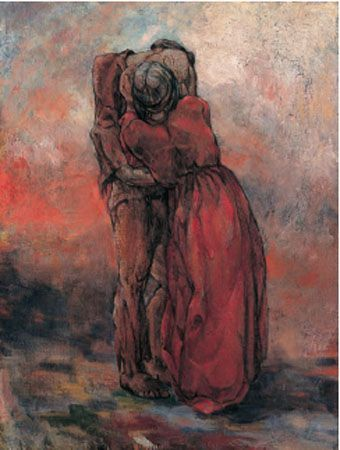 The Embrace by Mary Swanzy.