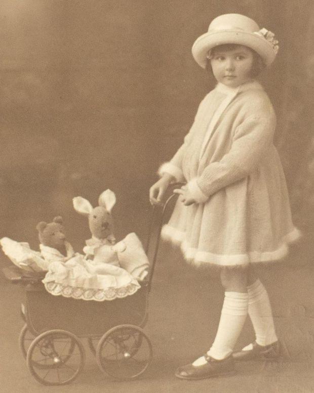 f13e8c7516b Elizabeth O Kelly as a four-year-old. Photograph  Tom Honan