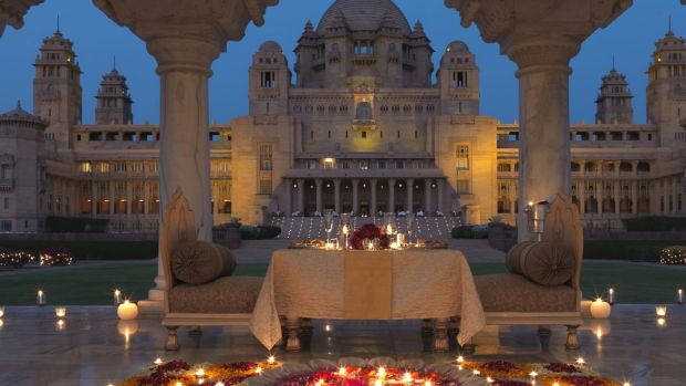 Umaid Bhawan Palace in the Indian city of Jodhpur is the 'largest, most magnificent, most dramatic, most otherworldly palace in the land', according to Condé Nast Traveller.