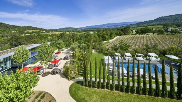 Chateau La Coste, France is a villa, biodynamic winery and art centre complex owned by developer Paddy McKillen