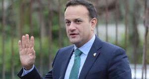 Taoiseach Leo Varadkar has insisted the delay in producing the Government's Brexit preparation plans is an issue of sequencing.  Photograph: Niall Carson/PA Wire