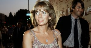 Film director and actor Penny Marshall at an event in Los Angeles in July 1982. Marshall died on Monday, aged 75. Photograph: Nick Ut/AP