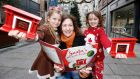Focus Ireland is helping Santa to find children who are homeless this Christmas using Santa's magical fireplaces. Photograph: Sasko Lazarov/Photocall Ireland