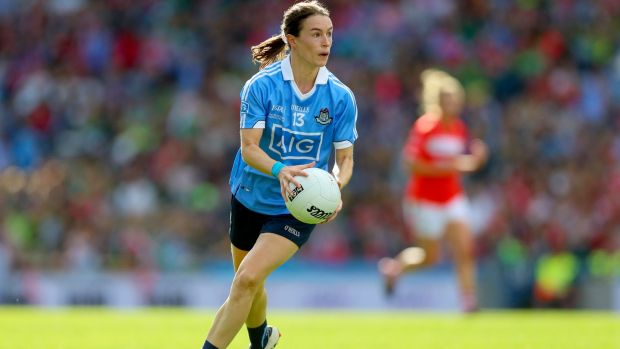 Dublin's All-Ireland winner Sinead Aherne: Each of these athletes will have had ups and downs along the way yet the lows are easily forgotten when they reach the highs of winning and walking out for a final. Photograph: Tommy Dickson/Inpho