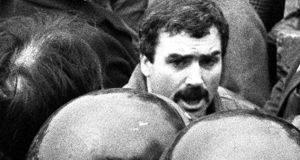 "Alfredo ""Freddie"" Scappaticci in 1987: Stakeknife was the code-name for a British army agent inside the IRA, identified as Scappaticci. Scappaticci denies the claims. Photograph: Pacemaker Press"