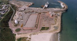 Rosslare Harbour, Co Wexford. Iarnród Eireann says its Rosslare Europort has up to 40 per cent spare capacity.