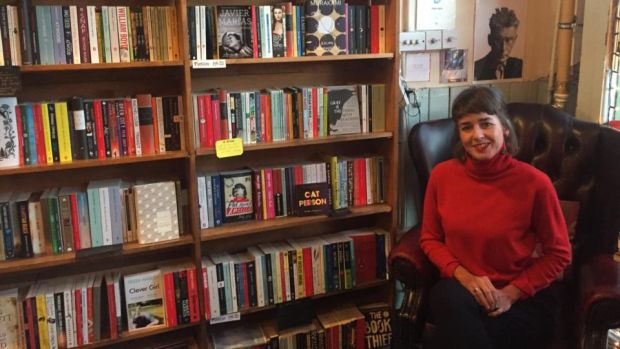 "Winding Stair bookshop manager Máire Griffin: ""We're back to the 'Dead Poets Society' days where people are proud to carry a book under their arm."""