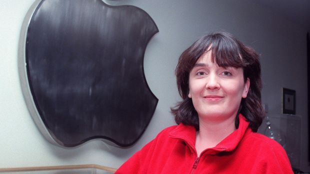 Colette McDonald, a diagnostics repair technician at Apple Computers, Cork, in the 1980s. Photograph: Paddy Whelan