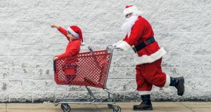 Last-minute Christmas shopping. Photograph: iStock/Getty