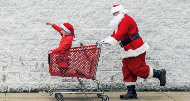 93e17ec8384f7 Last-minute Christmas shopping. Photograph: iStock/Getty