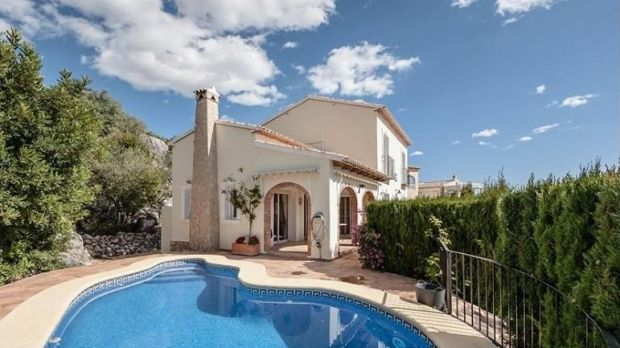 Spain: This villa in Valencia has a secluded setting with views over the Orba Valley and a private pool