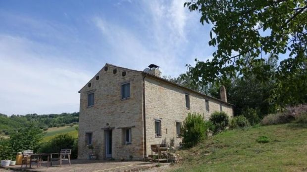 Italy: A traditional stonehouse on two hectares, within half an hour of the coast and an hour of Marche airport