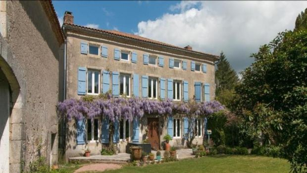 France: A renovated chambre d'hôtes near the village of Champniers-et-Reilhac village