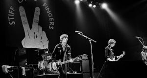 Stiff LIttle Fingers. Photograph: Virginia Turbett/Redferns