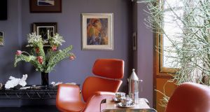 Wall colour has a real impact on a painting. Photograph: Getty