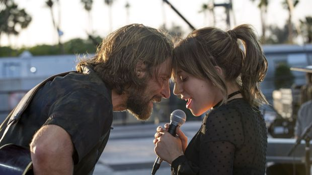 Bradley Cooper and Lady Gaga are the leads in box office hit A Star Is Born, Cooper's version of the 1937 film previously remade in 1954 and 1976.