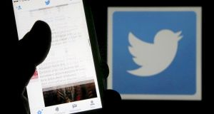 Twitter's decline on Thursday also coincided with a broader market retreat. Photograph: Reuters