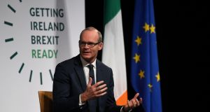 Minister for Foreign Affairs and Trade Simon Coveney. Photograph: Clodagh Kilcoyne/Reuters